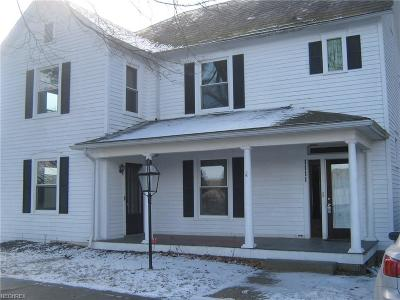 Dresden Single Family Home For Sale: 1111 Main St