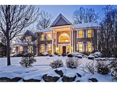 Chagrin Falls Single Family Home For Sale: 17511 Lakesedge Trl