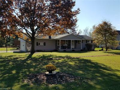 Poland Single Family Home For Sale: 3963 Dobbins Rd