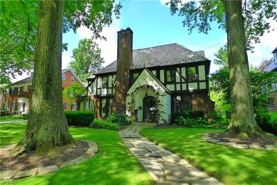 Shaker Heights Single Family Home For Sale: 2940 Kingsley Rd