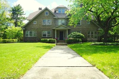 Shaker Heights Single Family Home For Sale: 2961 Broxton Rd