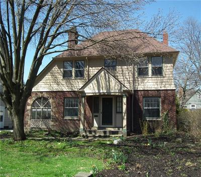 Shaker Heights Single Family Home For Sale: 3276 Daleford Rd