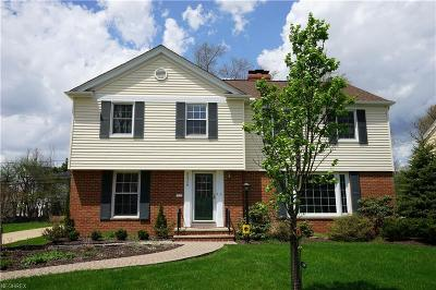 Shaker Heights Single Family Home For Sale: 20549 Byron Rd