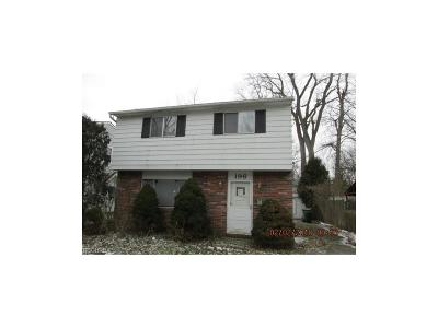 Eastlake Single Family Home For Sale: 196 Plymouth Rd