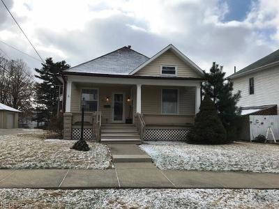 Guernsey County Single Family Home For Sale: 1610 Stewart Ave