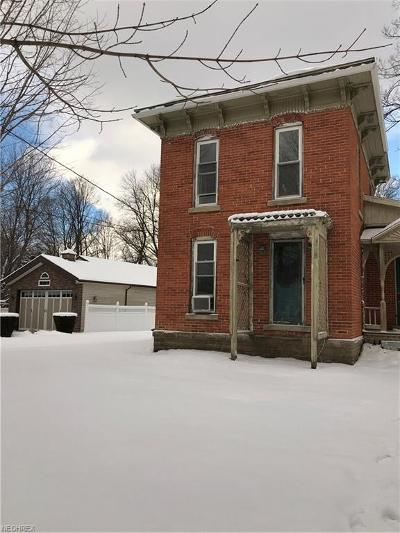 Madison Single Family Home For Sale: 36 Union St