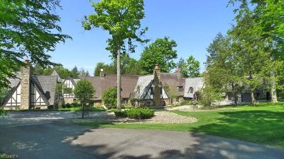 Gates Mills Single Family Home For Sale: 0000 Fox Run