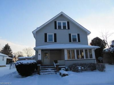 Single Family Home For Sale: 42 West Church St