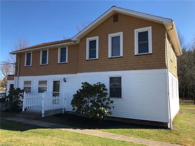 Ashtabula Multi Family Home For Sale: 5118 North Ridge Rd West