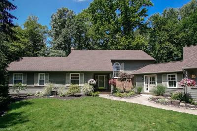 Geauga County Single Family Home For Sale: 6015 Parkland Dr
