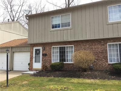 Mentor Condo/Townhouse For Sale: 5251 Sable Ct