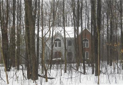 Geauga County Single Family Home For Sale: 11995 Quail Woods Dr