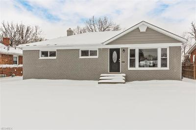 Mayfield Heights Single Family Home For Sale: 6509 Longridge Rd
