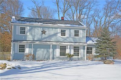 Concord Single Family Home For Sale: 10367 Johnnycake Ridge Rd