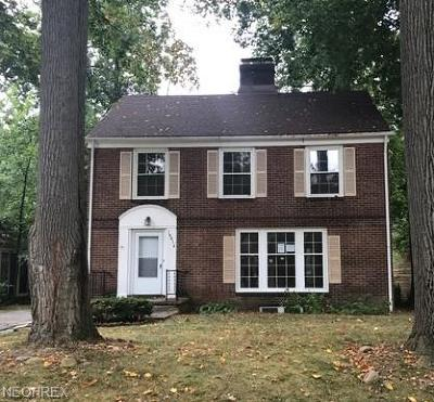 Shaker Heights Single Family Home For Sale: 19814 Scottsdale Blvd