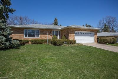 Wickliffe Single Family Home For Sale: 30335 Overlook Dr
