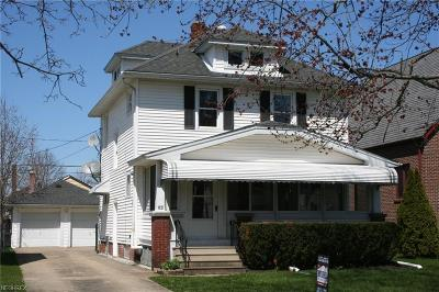 Elyria Single Family Home For Sale: 346 Princeton Ave