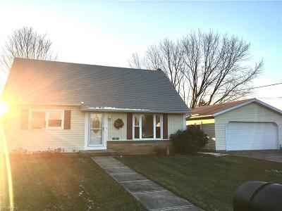 Zanesville Single Family Home For Sale: 27 Downing Dr