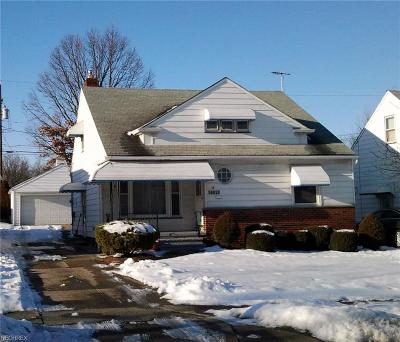 Garfield Heights Single Family Home For Sale: 12205 Tonsing Dr