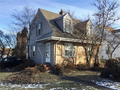 Struthers Single Family Home For Sale: 249 Como St