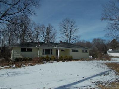 Newton Falls Single Family Home For Sale: 1574 State Route 534