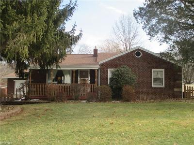 Struthers Single Family Home For Sale: 295 West Hopewell Dr