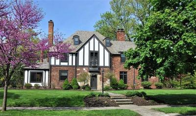 Shaker Heights Single Family Home For Sale: 2888 Morley Rd