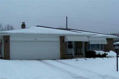 Garfield Heights Single Family Home For Sale: 6449 Brookhill Dr