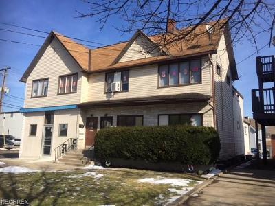 Stark County Multi Family Home For Sale: 600 Dueber Ave Southwest