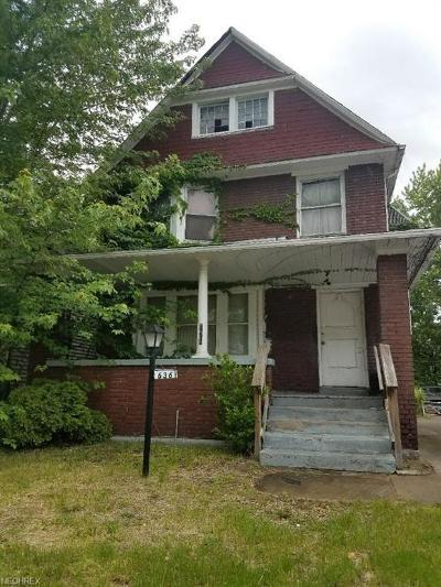 Cleveland Single Family Home For Sale: 636 East 124th St