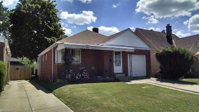 Parma Single Family Home For Sale: 2903 Fortune Ave