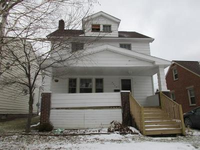Garfield Heights Single Family Home For Sale: 9702 Plymouth Ave