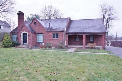 Single Family Home For Sale: 3050 Fulton Dr Northwest