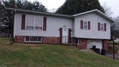 Zanesville Single Family Home For Sale: 1850 Jackson Rd