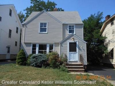 Garfield Heights Single Family Home For Sale: 4868 East 88th St