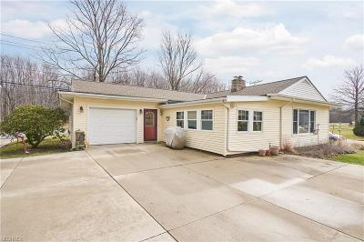 Willoughby Hills Single Family Home For Sale: 2996 Som Center Rd