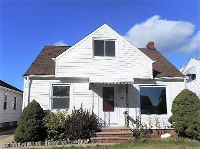 Parma Single Family Home For Sale: 8302 Renwood