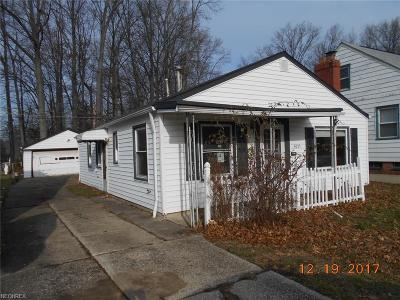 Wickliffe Single Family Home For Sale: 29033 Fuller Ave