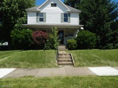 Single Family Home For Sale: 465 West Market St