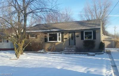 Lake County Single Family Home For Sale: 35671 Stevens Blvd