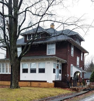 Single Family Home For Sale: 635 South Rockhill Ave