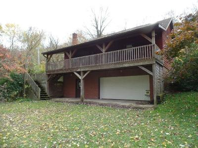 Single Family Home For Sale: 10005 Old River Rd