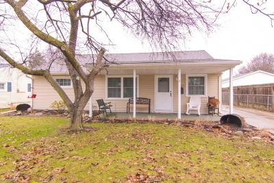 Elyria Single Family Home For Sale: 859 Oakwood Dr