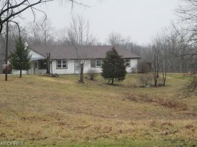 Mount Perry OH Single Family Home For Sale: $44,000