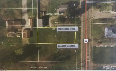 Huron County Residential Lots & Land For Sale: 0 State Route 18