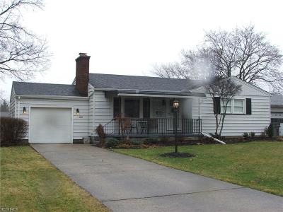 Youngstown Single Family Home For Sale: 2641 Christine Ln