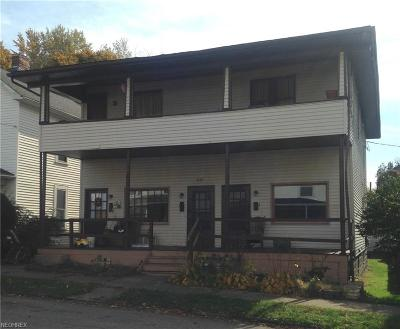 Guernsey County Multi Family Home For Sale: 822 Foster Ave