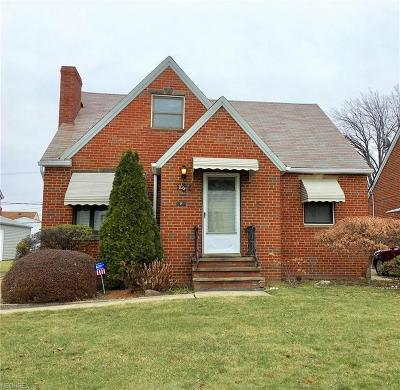 Euclid Single Family Home For Sale: 863 East 218 St
