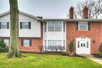 Rocky River Condo/Townhouse For Sale: 2940 Pease Dr #206