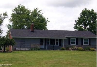 Ashtabula County Single Family Home For Sale: 4700 Us Route 6